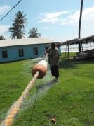 Fisherman in Tasbapauni