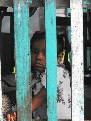 A girl in Tasbapauni