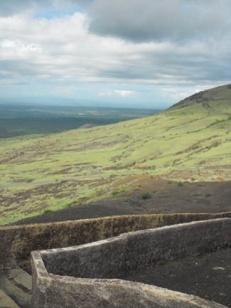 View from Masaya volcano