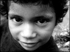 A boy in Bluefields