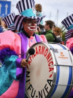 Carnaval parade in Santa Cruz