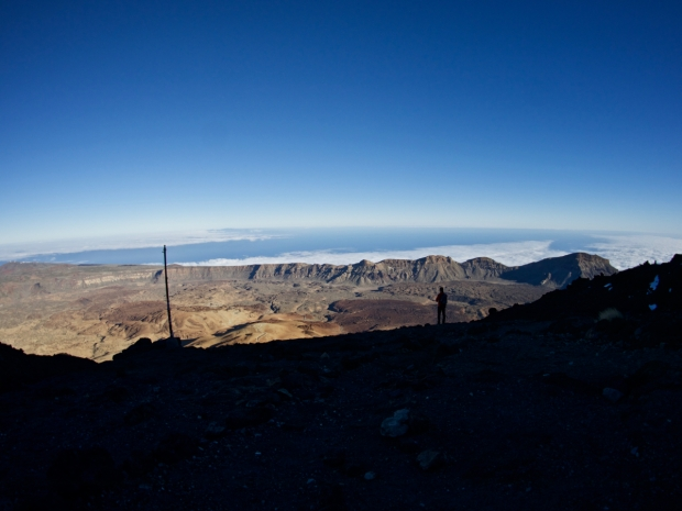 mount teide crater view