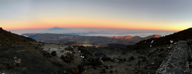 mount teide sunset altavista refuge