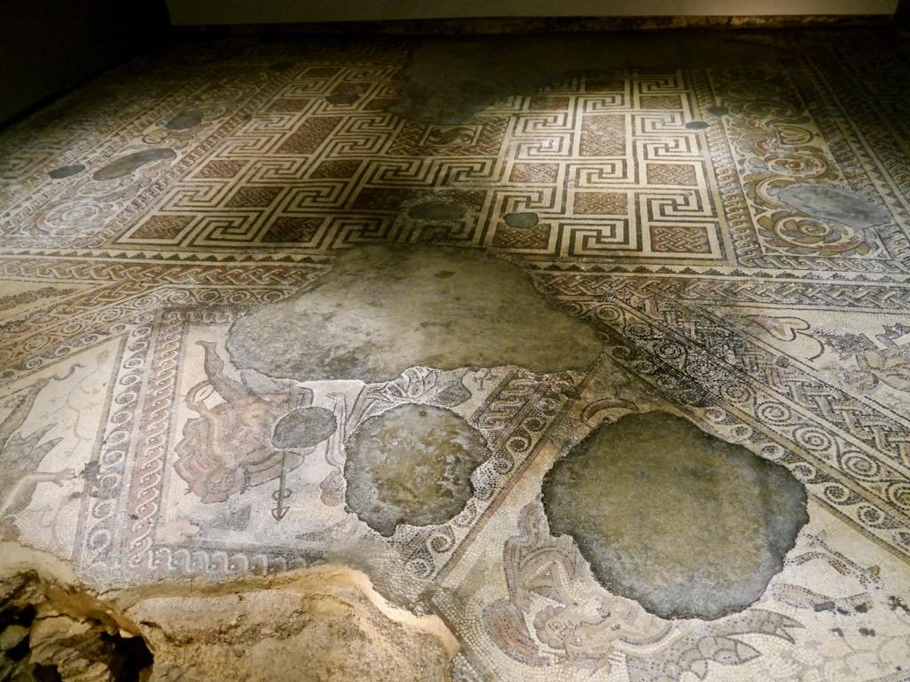 Chedworth Roman Villa mosaics