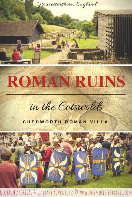 Roman ruins in the Cotswolds: Chedworth Roman Villa