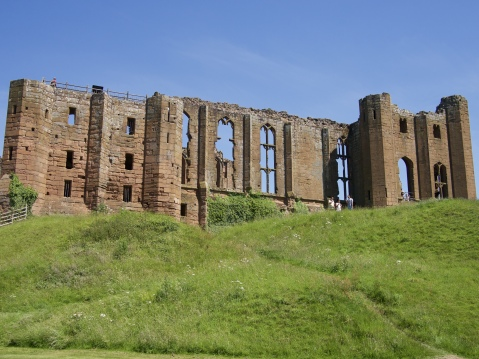 Back walls of Kenilworth Castle
