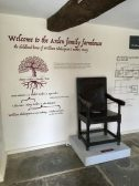 Shakespeare exhibit at Mary Arden's Farm