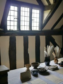 Inside Mary Arden's Farmhouse