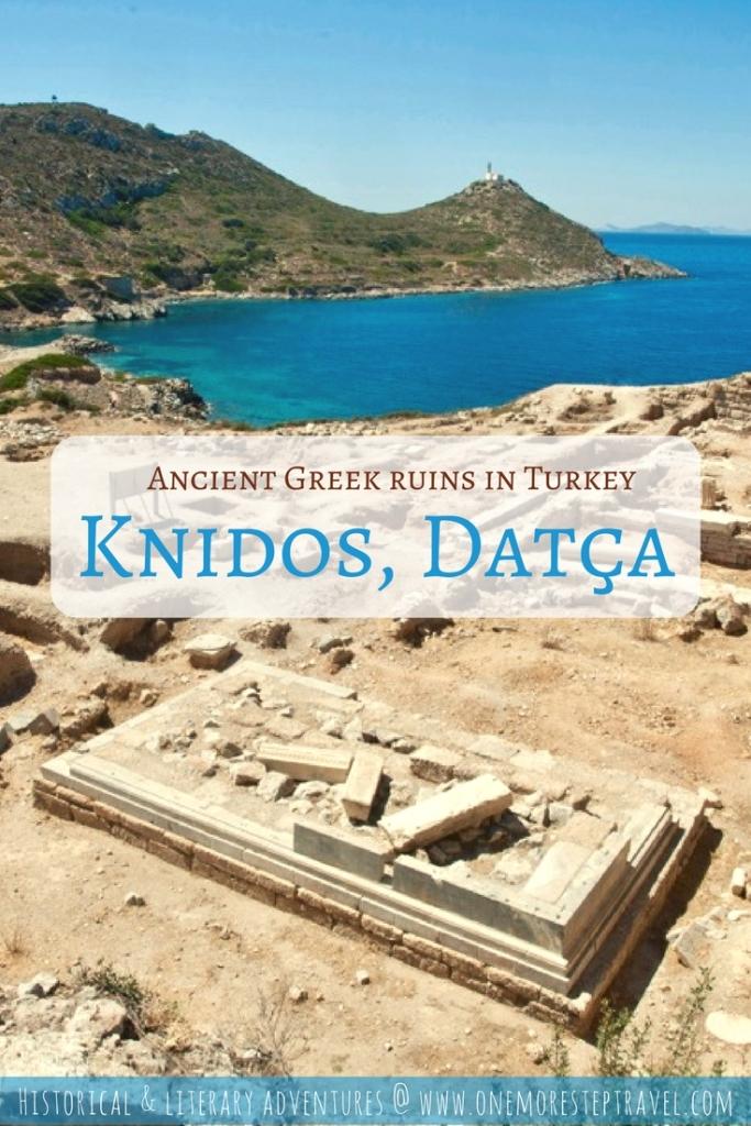 Ancient Greek ruins in Turkey at Knidos, Datça