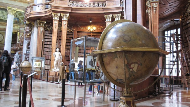 Austrian National Library State Room - Venetian globe