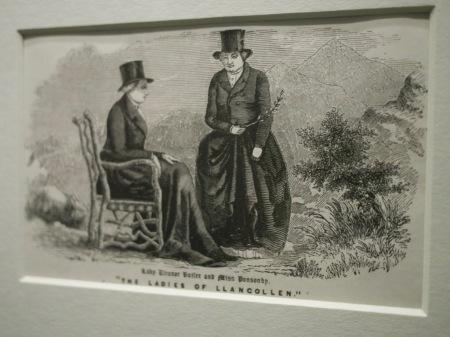 Ladies of Llangollen at the British Museum's desire love identity exhibit