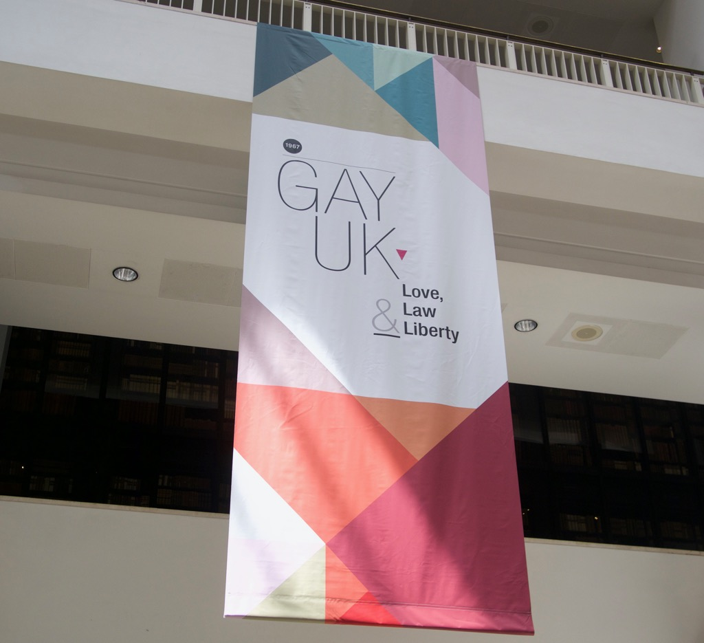 Gay UK: Love, law & liberty exhibition at the British Library