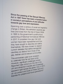 Introduction to the Gay UK exhibit at the British Library