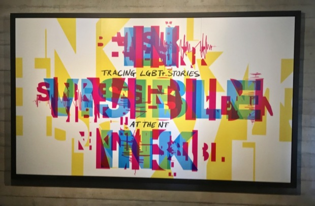 In Visible Ink exhibit at the National Theatre