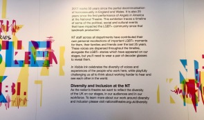 Introduction to the In Visible Ink exhibition at the National Theatre