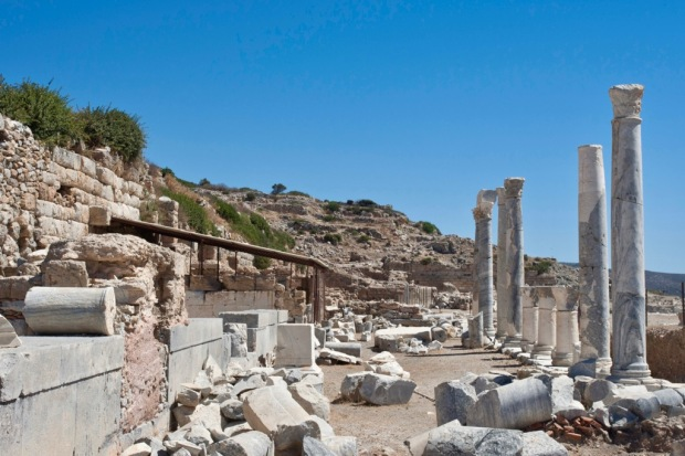 Ancient Greek ruins at Knidos, Datça