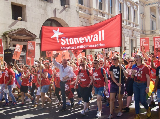 Stonewall at Pride in London
