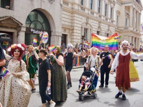National Trust at Pride in London
