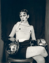 1927. Claude Cahun is featured in the Queer British Art exhibition at the Tate Britain