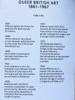 UK LGBT history timeline - featured in the Queer British Art exhibition at the Tate Britain