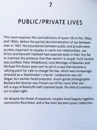 Public private lives - featured in the Queer British Art exhibition at the Tate Britain