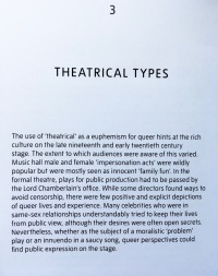 Theatrical types - featured in the Queer British Art exhibition at the Tate Britain