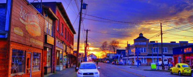 Visit Storybrooke (or Steveston) main street