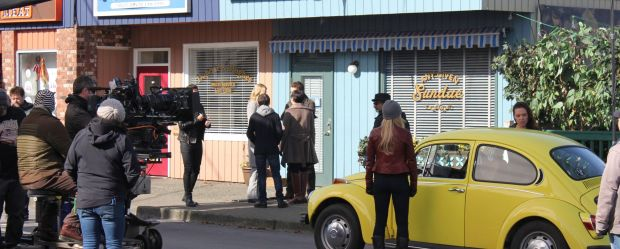 Filming Storybrooke from Once Upon a Time at Steveston
