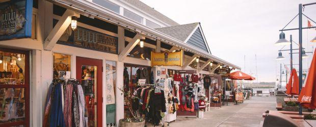 Shops in Steveston aka Storybrooke
