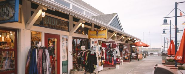Shops in Steveston aka Storybrooke