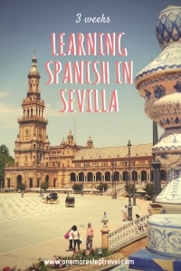 3 weeks learning Spanish in Sevilla