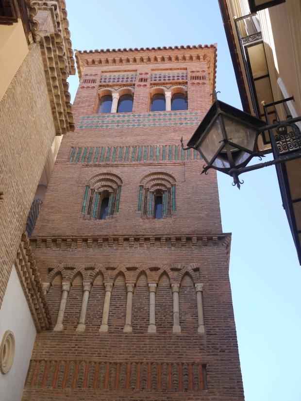 Teruel - Case de los Amantes - minaret turned church
